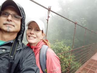 Monteverde, in the Cloud Forest in Costa Rica