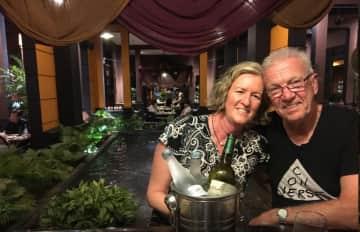 Cassie and Bill in Vietnam