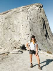 Good times at Half Dome in Yosemite