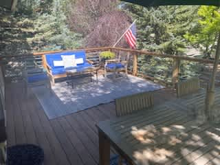 Front Deck (The house has 4 decks)