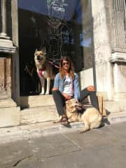 Yuba, Alessandra and Asia in Ravenna