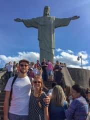 Daniel and Jessy in Rio, Brazil.