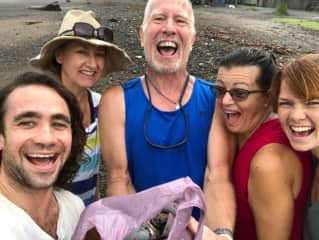 Beach Clean Up with the Karma Tribe, Jaco Costa Rica
