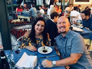 Mangiare!! Dinner in beautiful Sorrento, Italy