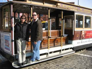 John and Lisa in San Francisco