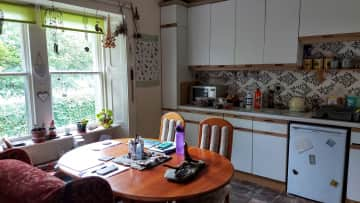 Kitchen.  The best room of the house for sunshine.