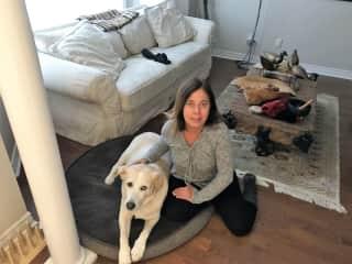 Ester and Zoe- Pet Sitting in Markham- Canada fev 2019