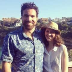 Luke and Clare