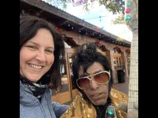 San Antonio with Elvis