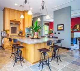 Great Room - kitchen, living room & dinning room
