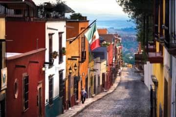 town street San Miguel de Allende