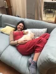 Puddy cat snuggles