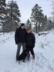 Hood River OR dog walk