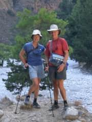 Hiking in Crete, Greece