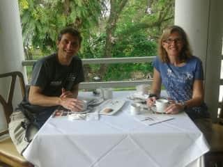 John and Sonia in Penang