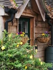 Sitter accommodation is in the Mariannerie,  our annexe in the garden