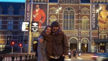 Before moving to London we lived in Amsterdam.