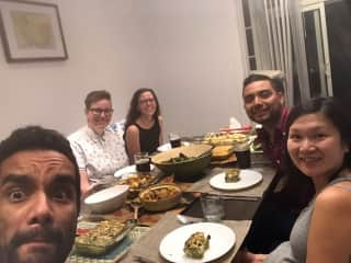 With my BFFs in Toronto for Friendsgiving