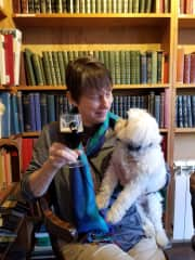 Dogs, books and real ale -- perfection!