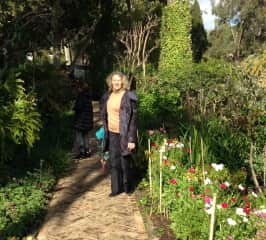 Exploring gardens in Spain