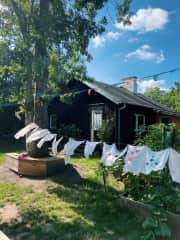 Patrycja's second home - urban garden (Jazdów)