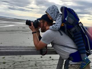 our hobby is the photography and chris is selfemployed as a photographer in part-time.