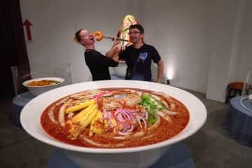 We like good food (Penang Laksa)