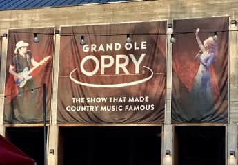 We went to the Grand Ole Opry in September, on our way from Georgia to dog sit in Colorado.