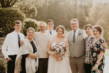 My oldest son's wedding