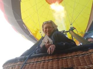 Hot air ballooning, August 2020 Kallispell MT.