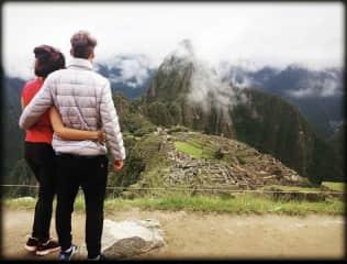 Amalia & Tomas, Machu Picchu, Perú.