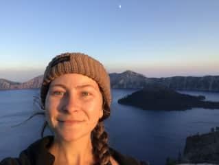 Hiking at Crater Lake