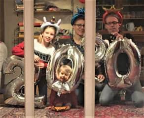 Ellie, Ivy May, myself (Doris) and Rudi