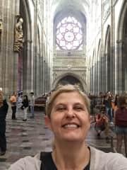 In St Vitus, Prague
