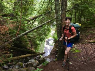 Backpacking is my favorite hobby.