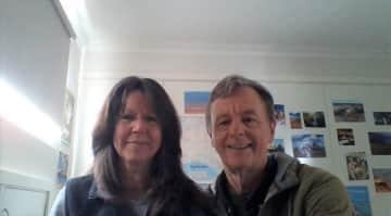 Kathy and Tim