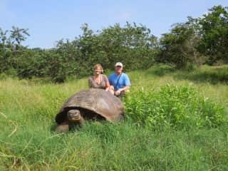 Jack & Pat, Galapagos Islands