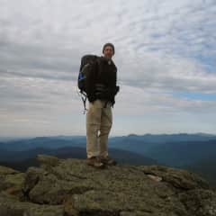 Hiking in the White mountains, New Hampshire