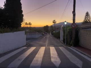 Just an epic photo of San Pedro at dusk