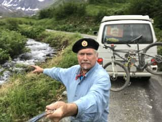 Traveling in Alaska by VW Camper