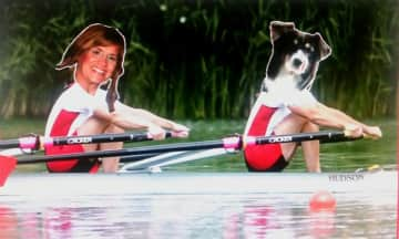 In my dreams, rowing with Lucy