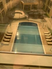 Complex pool (bad picture, but amazing pool!