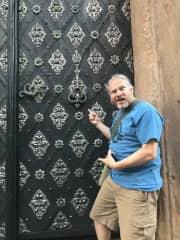 The most amazing door in the world! Prague