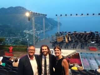 The symphony at Ravello, Italy