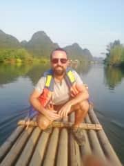 Yulong river, China.