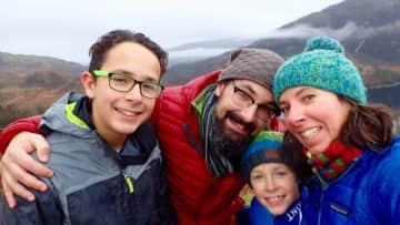 Hugo, Benoît, Éloi & Mélanie