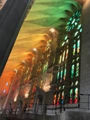 La Sagrada Familia, Barcelona