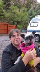 Tori loved the 6 month road trip in our camper van.