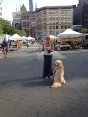 Me & Roxy  in Union Square