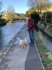 Exploring the Cotswolds with Lucy and Maisie